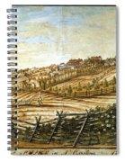 Farmer Plowing Spiral Notebook