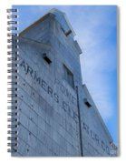 Farmers Grain Elevator, Power, Montana Spiral Notebook
