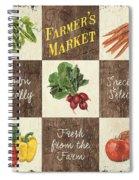 Farmer's Market Patch Spiral Notebook