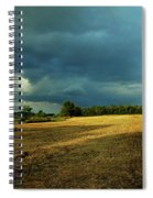 Farmers Race Against The Weather Frankenmuth Michigan Spiral Notebook