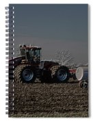 Farming April In The Field On The Case 500 Pa Spiral Notebook