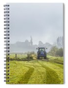 Farming In Clackmannan Spiral Notebook