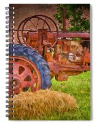 Farming In Hanksville Utah Spiral Notebook