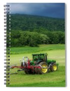Farming New York State Before The July Storm 02 Spiral Notebook