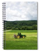 Farming New York State Before The July Storm 03 Spiral Notebook