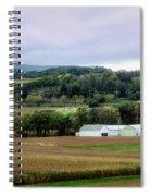 Farmland In Pennsylvania Spiral Notebook