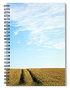 Farmland To The Horizon 2 Spiral Notebook
