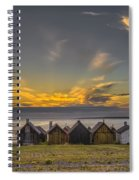 Faroe, Gotland, Sweden Spiral Notebook