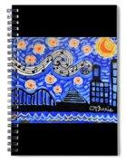 Memphis Nights Spiral Notebook