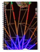 Farris Wheel Close-up Spiral Notebook