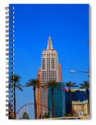 Fascination Las Vegas Spiral Notebook