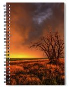 Fascinations - Warm Light And Rumbles Of Thunder In The Oklahoma Panhandle Spiral Notebook
