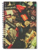 Fashion Designers Desk  Spiral Notebook