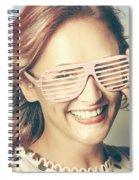Fashion Eyewear Pin-up Spiral Notebook