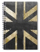 Fashion Flag United Kingdom Spiral Notebook