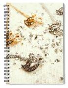 Fashion Funfair Spiral Notebook