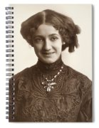 Fashion: Hairstyle, C1900 Spiral Notebook