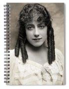Fashion: Hairstyle, C1910 Spiral Notebook