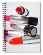 Fashion Model Lipstick Spiral Notebook