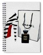 Fashion Noir Spiral Notebook