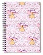 Fashion Pattern Spiral Notebook