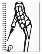 Fashion Sketch Spiral Notebook