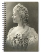 Fashion: Woman Spiral Notebook