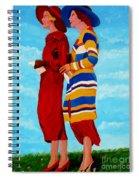 Fashionable Ladies Spiral Notebook