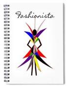 Fashionista Spiral Notebook