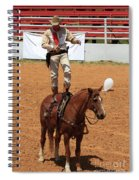 Fast Draw Cowboy Spiral Notebook
