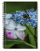 Fast Food For Bumblebees Spiral Notebook