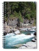 Fast River Spiral Notebook
