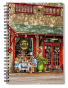 Fat Hen Grocery - New Orleans Spiral Notebook