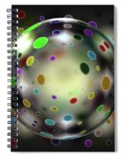 Fat Round Spiral Notebook