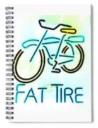 Fat Tire Spiral Notebook