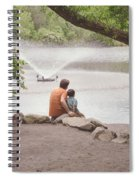 Father And Son 2 Spiral Notebook