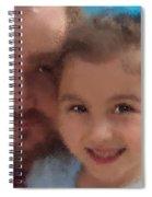 Father Daughter Spiral Notebook