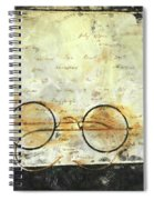Father's Glasses Spiral Notebook