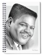 Fats Domino Spiral Notebook