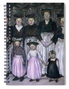 Fautrier: Sunday Stroll Spiral Notebook