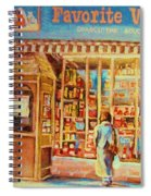 Favorite Viande Market Spiral Notebook