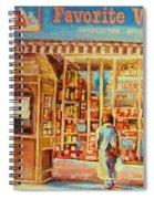 Favorite Viande Market Spiral Notebook