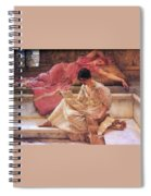 Favourite Poet Lawrence Alma-tadema Spiral Notebook
