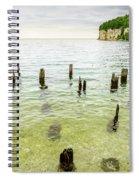 Fayette State Park Shoreline Spiral Notebook