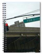 Fdr Drive Spiral Notebook