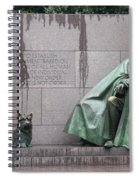 Fdr Memorial - Neither New Nor Order Spiral Notebook