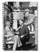 Fdr Presenting Medal Of Honor To William Wilbur Spiral Notebook