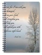 Fear Not Spiral Notebook