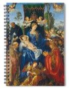 Feast Of Rose Garlands Spiral Notebook