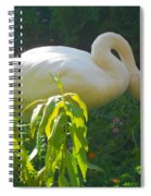 Feasting On Vegetation Spiral Notebook